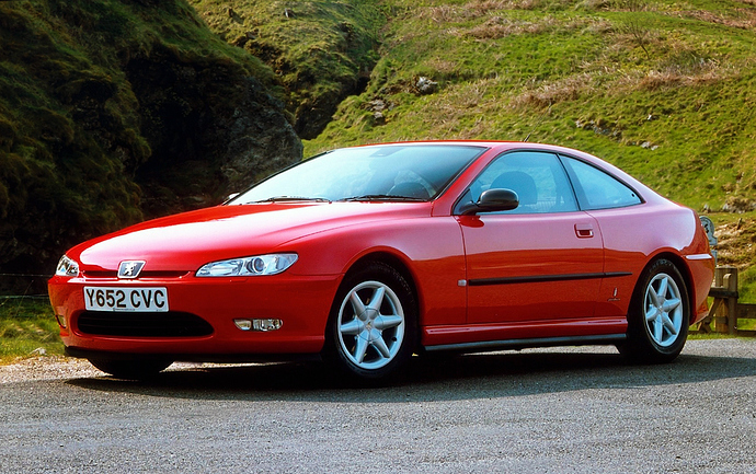 Peugeot 406 Coupe Re-proportioned