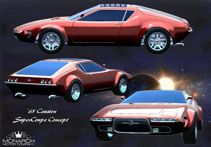 1965 Causton SuperCoupe Concept